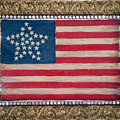 33 Star American Flag. Painting Of Antique Design by Sofia Metal Queen
