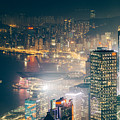 Hong Kong Victoria Harbour  by Tuimages