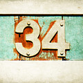 34 On Weathered Aqua by Valerie Reeves