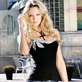 345337 Women Long Hair Lips Eyes Candice Swanepoel by Rose Lynn