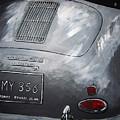 356 Porsche Rear by Richard Le Page