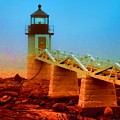 3600001  Maine Lighthouse by Ed Immar