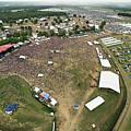 Bonnaroo Music Festival Aerial Photography by David Oppenheimer