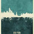 New York Skyline by Michael Tompsett