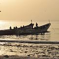 People In Gambia by Bozena Simeth
