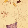 38027 Egon Schiele by Eloisa Mannion