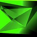 3d-greenpyramids by Helmut Rottler