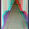 3d Hotel Hallway by Brian Wallace