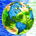 3d Render Of Planet Earth 11 by Jeelan Clark