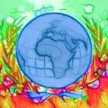 3d Render Of Planet Earth 17 by Jeelan Clark