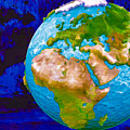 3d Render Of Planet Earth 6 by Jeelan Clark