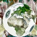 3d Render Of Planet Earth 7 by Jeelan Clark