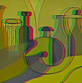 3d Stereo Cubism - Use Red-cyan 3d Glasses by Brian Wallace