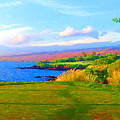3rd Across The Bay At Mauna Kea by Allen Lawrence