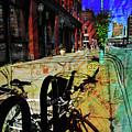 3rd Ward Bicycle Abstract Map by Anita Burgermeister