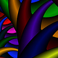 3x1 Abstract 915 by Rolf Bertram