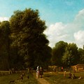 A View Of The The Haarlemmerhout by MotionAge Designs