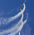 Aerostars Yak-50 Team by Angel Ciesniarska