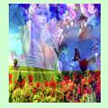 Angel In A Field by Mitchell Watrous