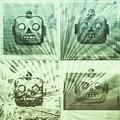 4 Angry Robots by Marko Sabotin