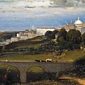 Ariccia by George Inness