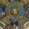 Artistic Ceilings Within The Vatican Museums In The Vatican City by Richard Rosenshein