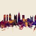 Atlanta Georgia Skyline by Michael Tompsett