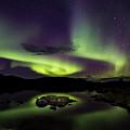 Aurora Borealis Over Iceland by Gunnar Orn Arnason