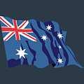 Australia Flag by Frederick Holiday