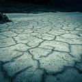 Badwater Basin Death Valley Salt Formations by Alex Grichenko