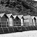 Beach Huts by Ed James