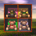 4 Bears In One by Walter Neal