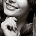 Beautiful Young Smiling Woman by Oleksiy Maksymenko