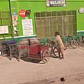 Belize - Green Market Bicycles by Jason Freedman