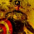Captain America by Love Art