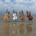 4 Cellos... - 4 Violoncelles... by R Fafard