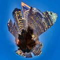 Charlotte Skyline Mini Planet by Alex Grichenko
