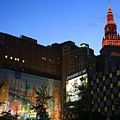 Terminal Tower And Sherwin Williams Building In Cleveland, Ohio, Usa by Douglas Sacha