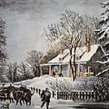 Currier & Ives: Winter Scene by Granger
