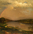 Delaware Water Gap by George Inness