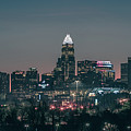 Early Morning In Charlotte Ncorth Carolina January 2018 by Alex Grichenko