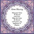 English Home Blessing by Sandrine Kespi