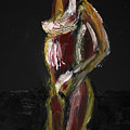 Fat Nude Woman  by Vladi Alon