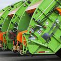 Garbage Truck Fleet by Don Mason
