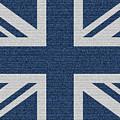 Great Britain Denim Flag by Iurii Vlasenko