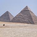 Great Pyramids Of Giza - Egypt by Joana Kruse