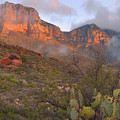 Guadalupe Mountains Sunrise by Stephen  Vecchiotti
