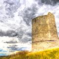 Hadleigh Castle Art by David Pyatt