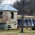 Hartshorne Lake Dam by Floyd Morgan Jr