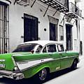 Havana, Cuba - Classic Car by Chris Andruskiewicz